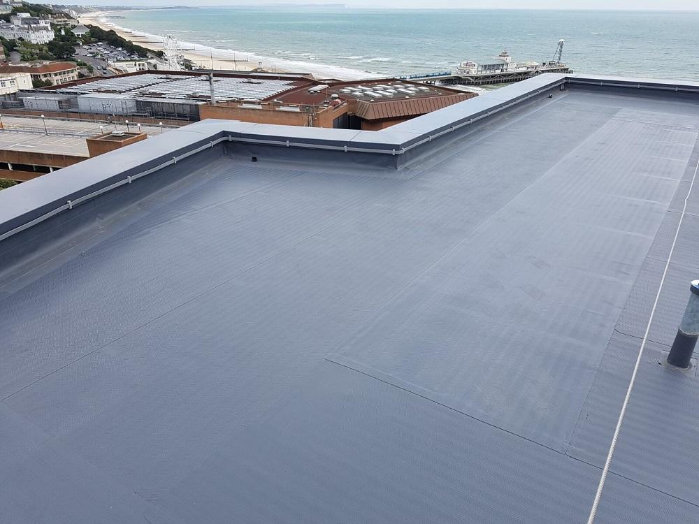 Single Ply Roof Installation : Gallery icee